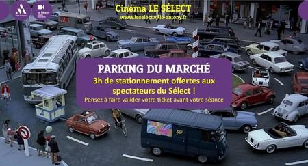 3h de parking gratuit !