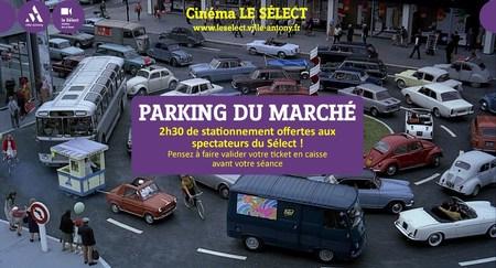 2h30 de parking gratuit !