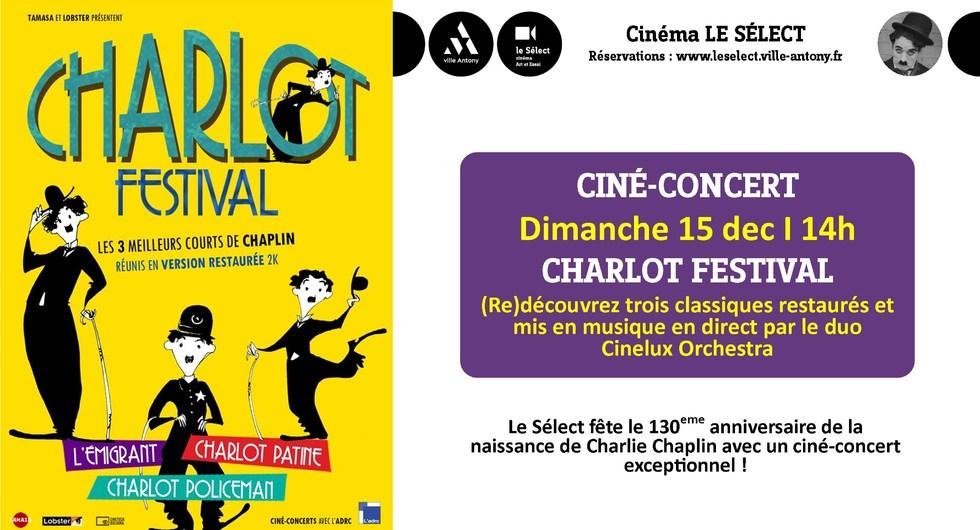 Photo du film Charlot Festival