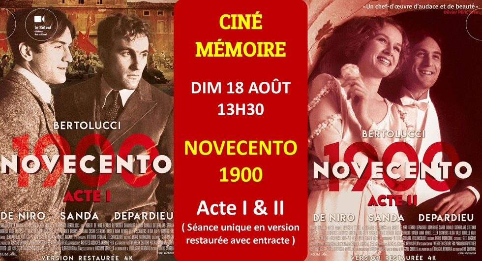 Photo du film Novecento (1900) - Acte I