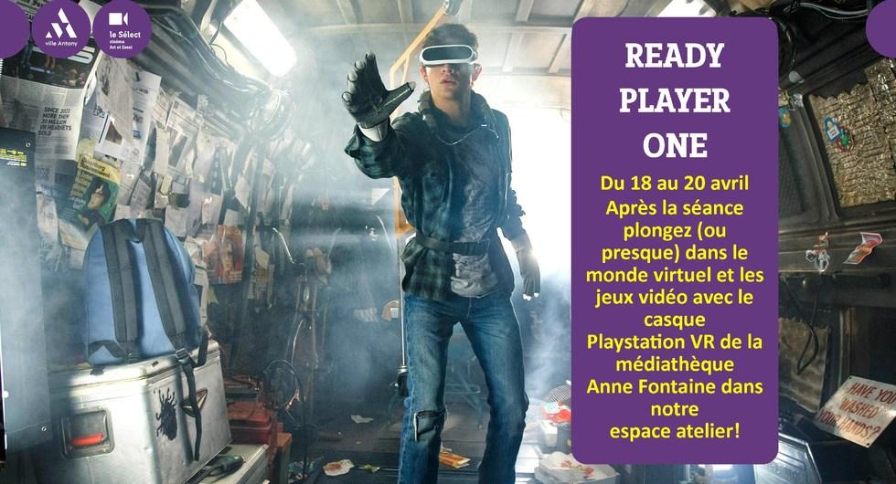 Photo du film Ready Player One en 3D